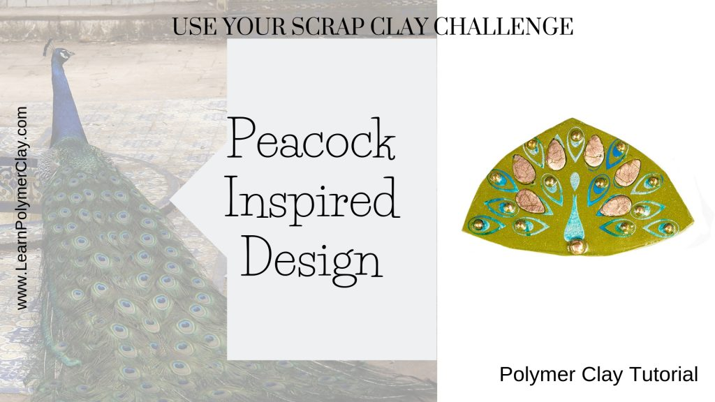 Peacock polymer clay video tutorial