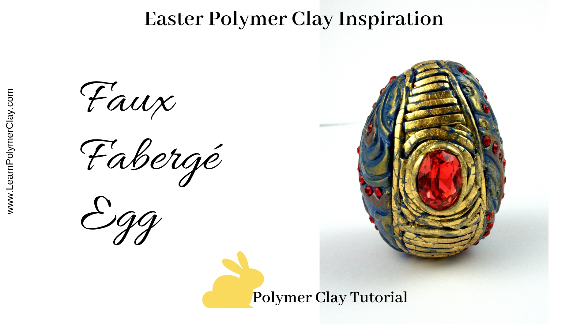 Easter inspired polymer clay tutorial