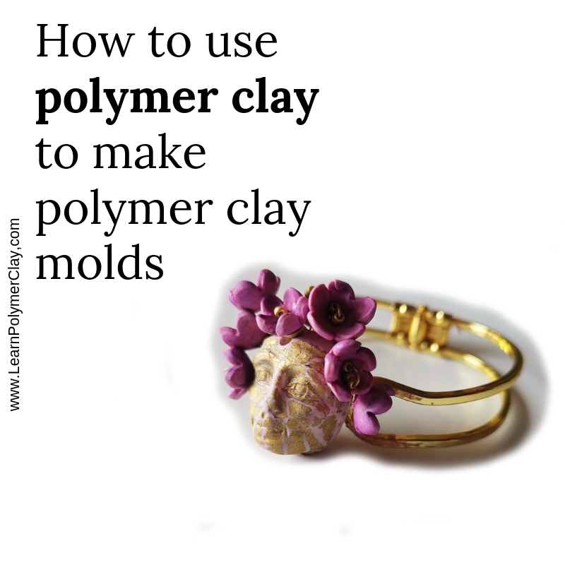 How to make molds polymer clay tutorial